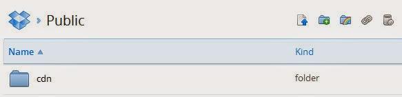 CDN Folder Dropbox