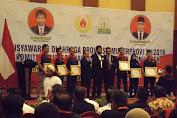 Mualem Calon Tunggal Musorprov KONI Aceh 2018