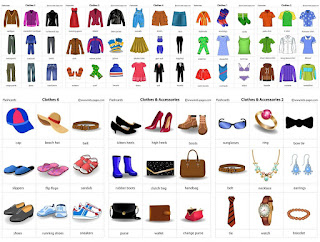 Clothes and Accessories Flashcards