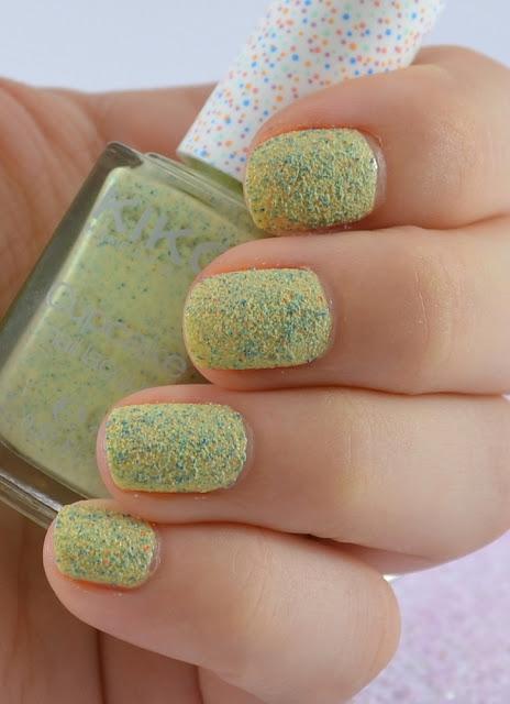 Kiko cupcake nail laquer pistachio Tragefoto