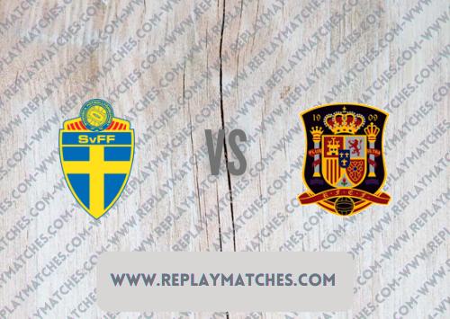 Sweden vs Spain -Highlights 02 September 2021