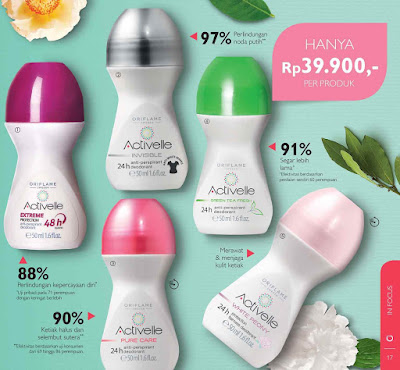 deodorant oriflame