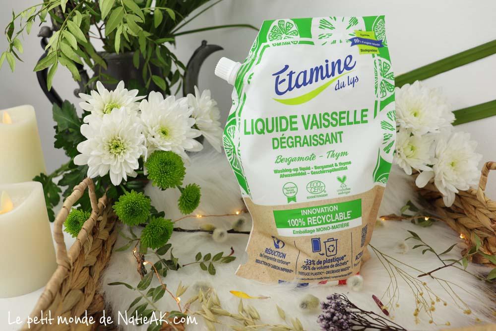 liquide vaisselle bergamote & thym Etamine du lys