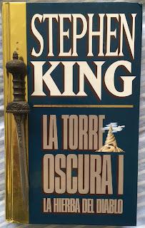 Portada del libro La torre oscura: la hierba del diablo, de Stephen King
