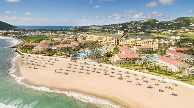 Experience paradise with an authentic Caribbean vacation at St. Kitts Marriott Resort & The Royal Beach Casino. This upscale hotel is on its own private beach, with Robert L. Bradshaw International Airport just 4 miles away.