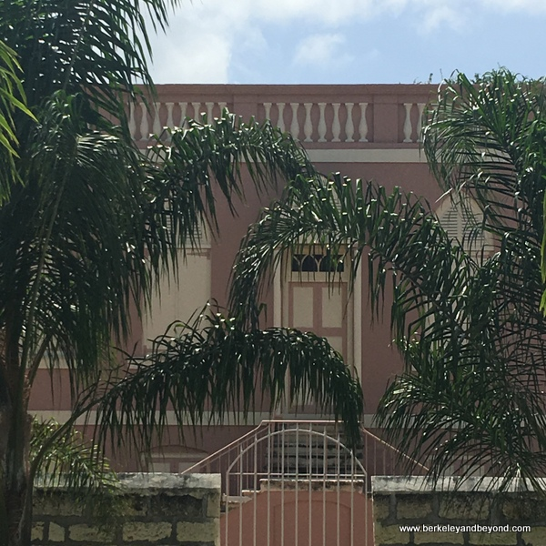 exterior of Nidhe Israel Synagogue and Museum in Bridgetown, Barbados