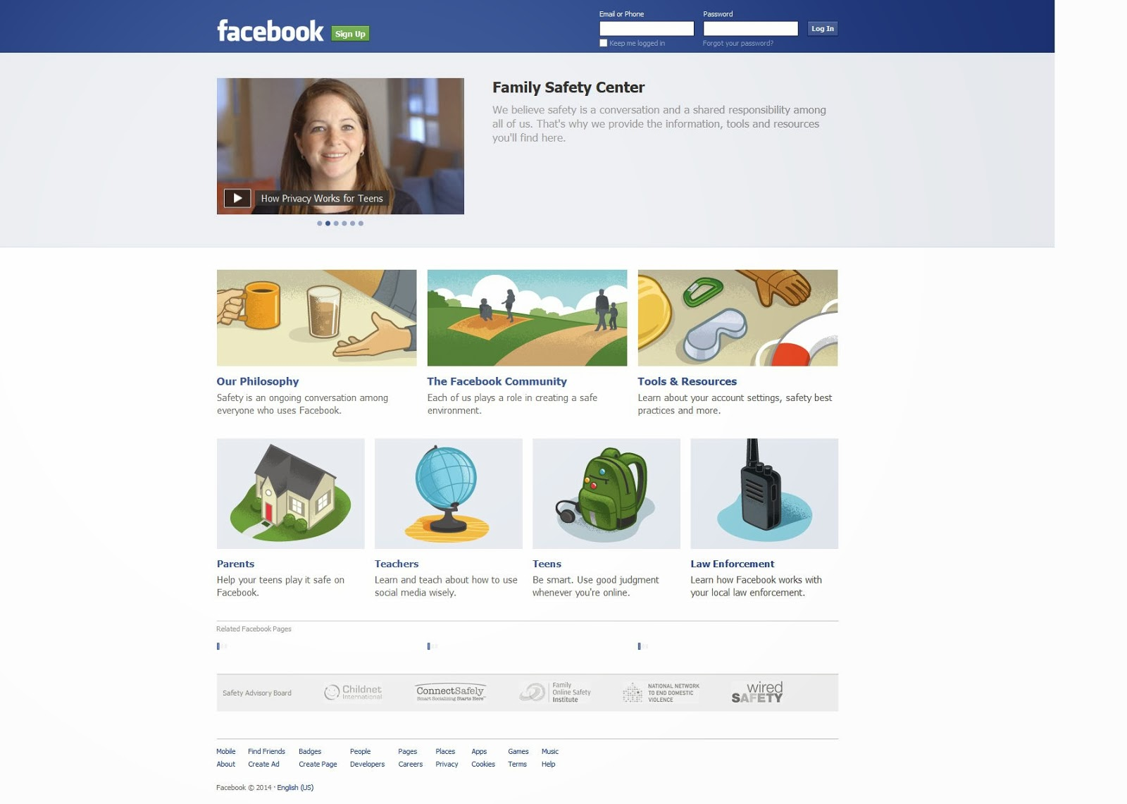 welcome facebook sign up