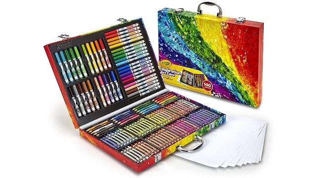 Crayola Inspiration Art Case Coloring Set