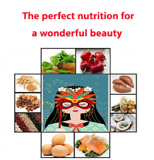 The perfect nutrition for a wonderful beauty