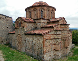 ο ναός των αγίων Θεοδώρων στο Μυστρά