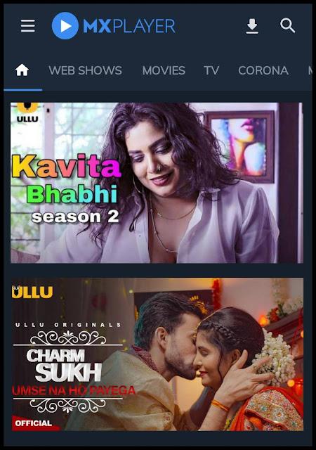 Ullu Web Series Download Free - Watch Online Free On MX Player App
