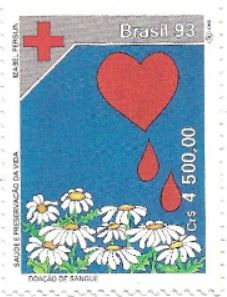 Selo Doação de Sangue