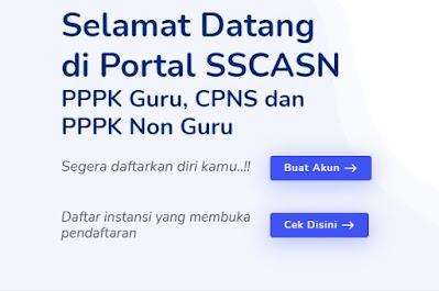 Jadwal Penerimaan CPNS dan PPPK Non Guru Tahun 2021