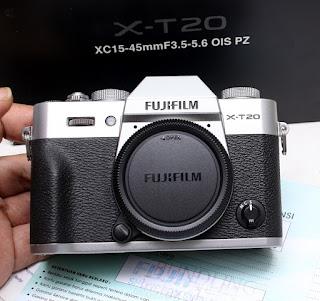 Fujifilm X-T20 Body Bekas