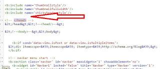 Cara membuat daftar isi otomatis blogspot