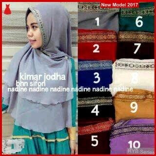 RYB071B Hijab Jilbab Cantik Khimar Murah Jodha BMG Online Shop