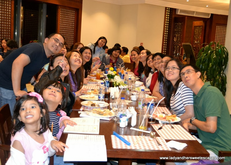 Happy Diners at Intramuros Restaurant Dubai