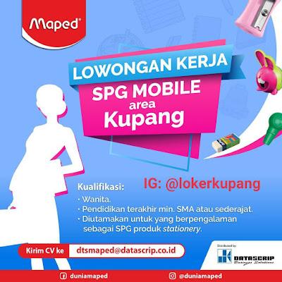Lowongan Kerja Maped Sebagai SPG Mobile Area Kupang