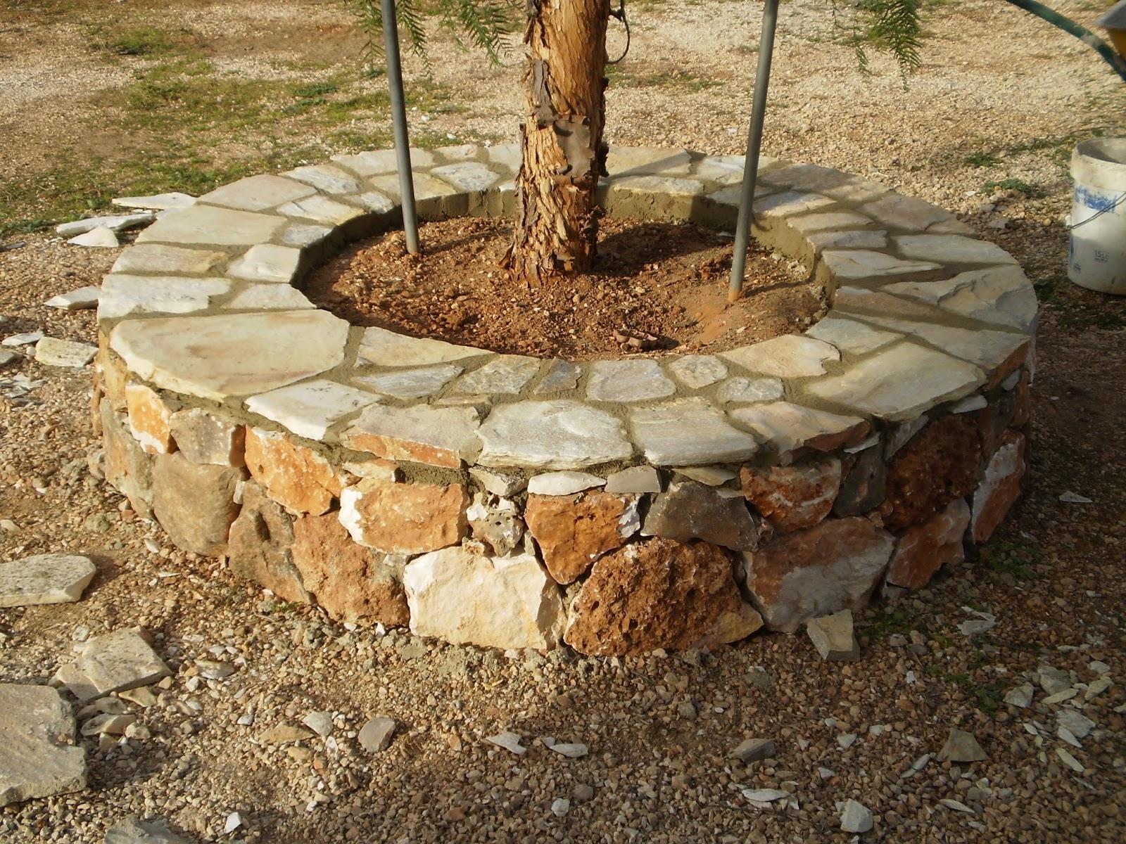 El blog de la elena un blog dulce divertido y - Hacer pared de piedra ...