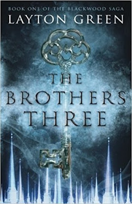 the-brothers-three, layton-green, book, cover