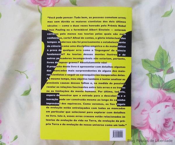 Resenha, livro, Tolices-Brilhantes, Mario-Livio, astrofisico, opiniao, critica, fotos, trecho, diagramação, editora-record, erros-de-cientistas, darwin, einstein, sinopse