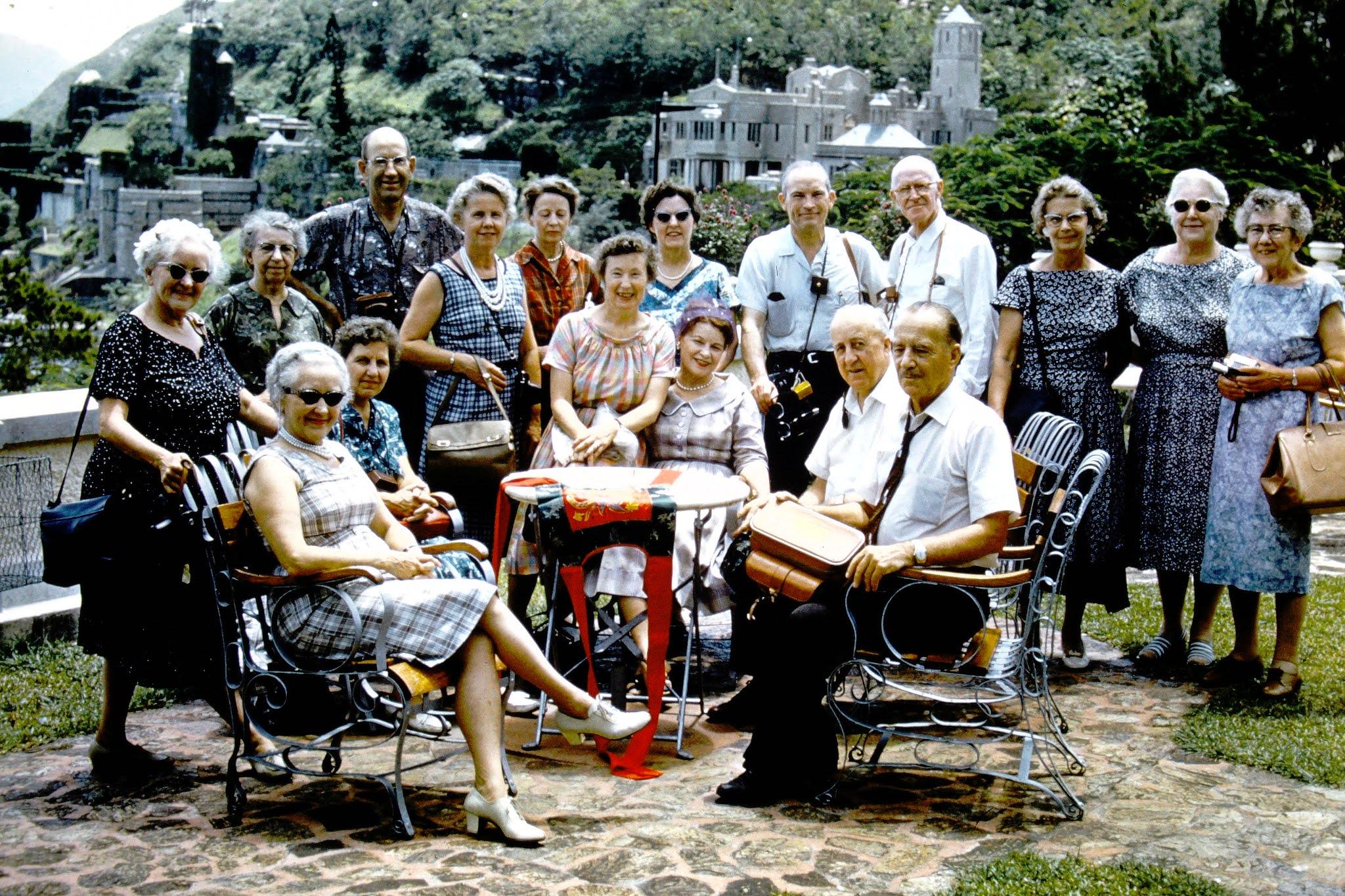 Around the World Tour Group - Hong Kong - 1961
