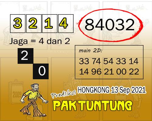 Prediksi Pak Tuntung Hongkong Senin 13