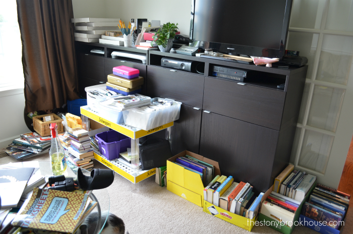 Unwanted books packed up