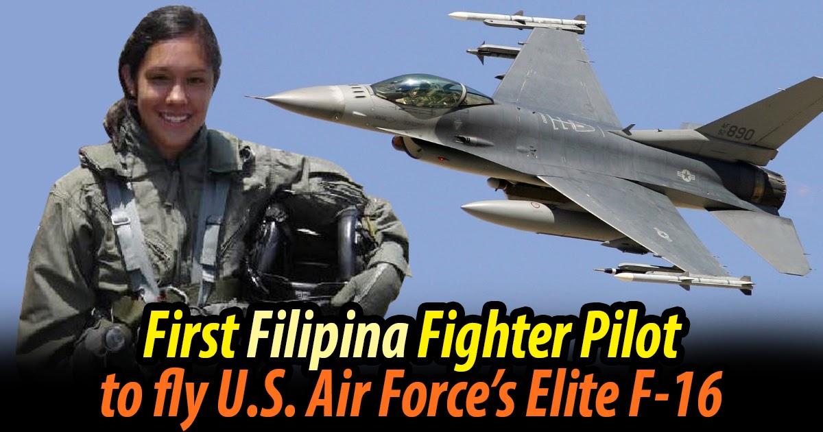MEET: Capt. Monessa Catuncan - the First Filipina F-16 Fighter Pilot of the Elite U.S. Air Force