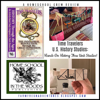 Home School in the Woods: Time Travelers US History Review