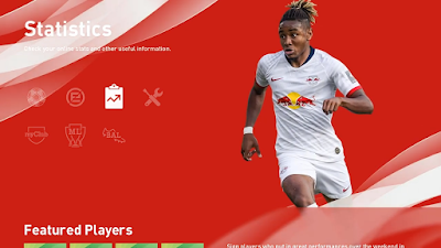 PES 2020 RB Leipzig Menu Mod by Hawke