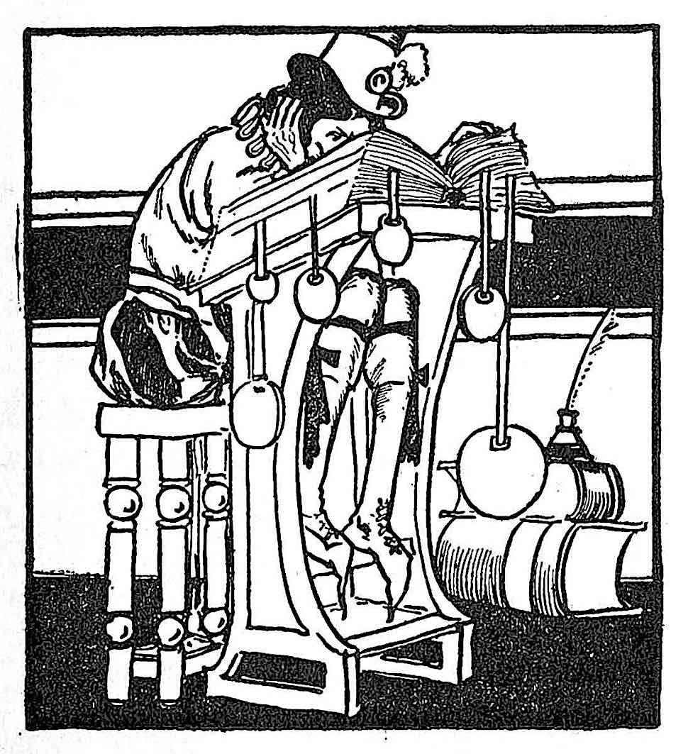 Tudor Jenks 1905, a student reading