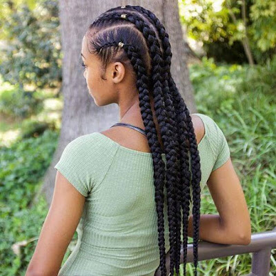 African fashion and style have an amazing variety of braided hairstyles such as Fulani Br ✘ 37 Stunning Fulani Braids Hairstyles For African American Women