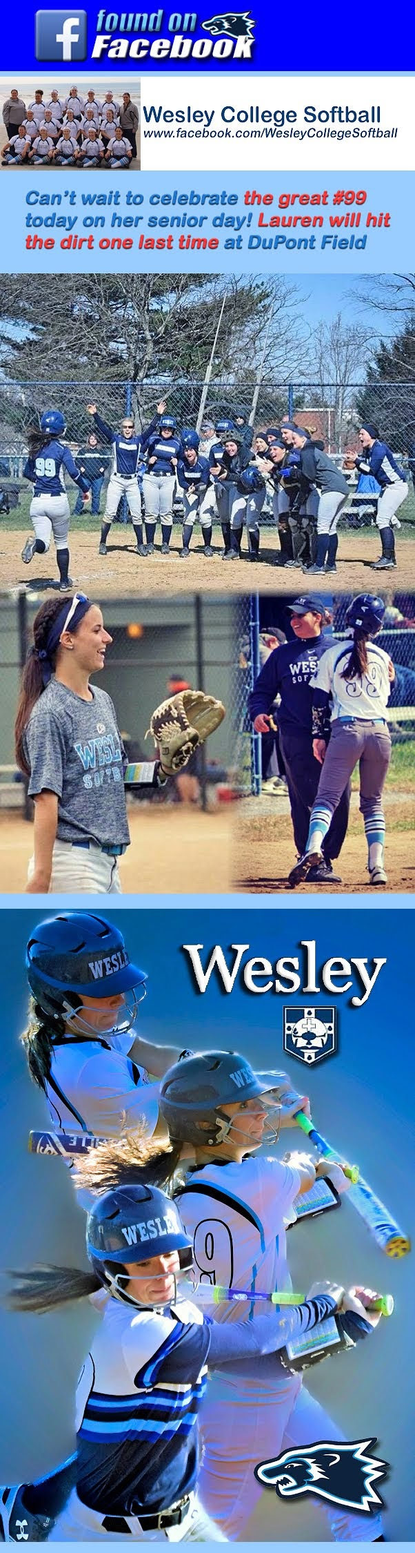 Wesley Wolverines Fastpitch Softball: 2018
