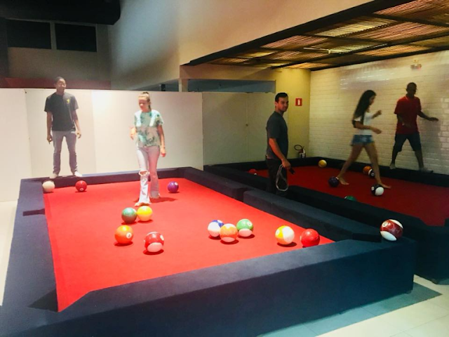 ACONTECE SNOOKBALL - BOLA 10 está inaugurado no North Shopping Barretos