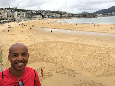Really amazing sand art