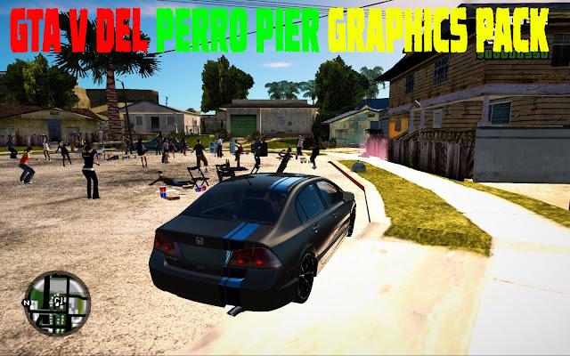 GTA V Del Perro Pier GTA San Andreas Graphics Pack