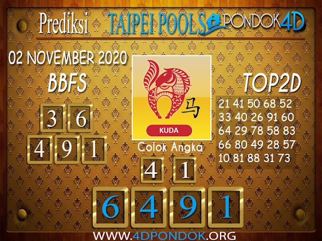 Prediksi Togel TAIPEI PONDOK4D 04 NOVEMBER 2020