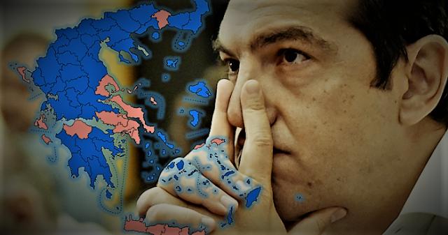 ΣΥΡΙΖΑ: Από το γκρίζο του Μάη στο μαύρο του Ιούλη