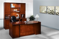 Luxury Office Furniture with Traditional Appeal from the Mayline Sorrento Collection