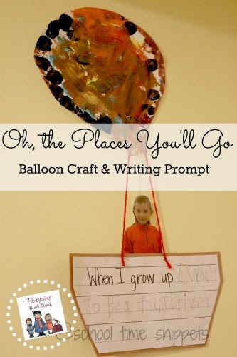 Dr. Seuss Writing Prompt and Craft