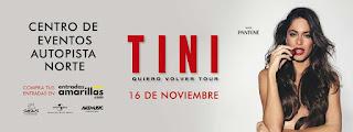 Concierto de TINI en Bogotá 2019