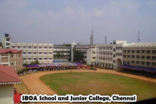 SBOA School and Junior College, Chennai