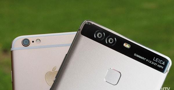 شركة Huawei تتفوق على شركة Apple وتعد ثاني أكبر شركة مصنعة للهواتف
