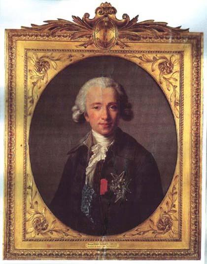 The comte de Vaudreuil by Louise Élisabeth Vigée Le Brun, 1784