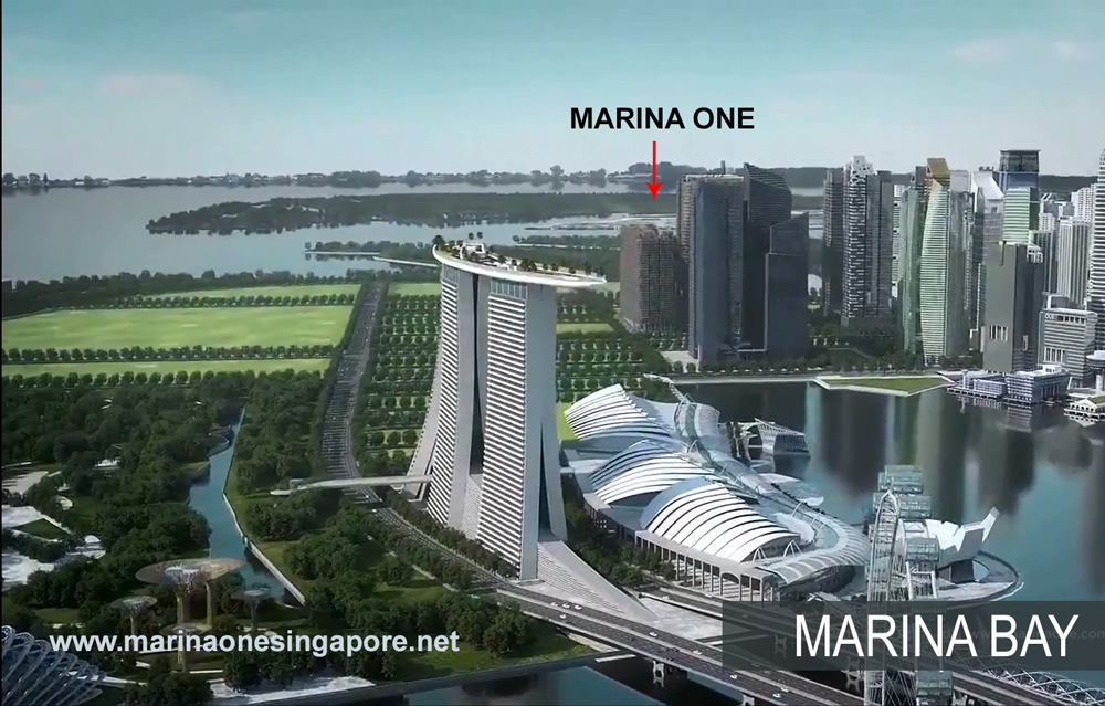 Marina One at Marina Bay