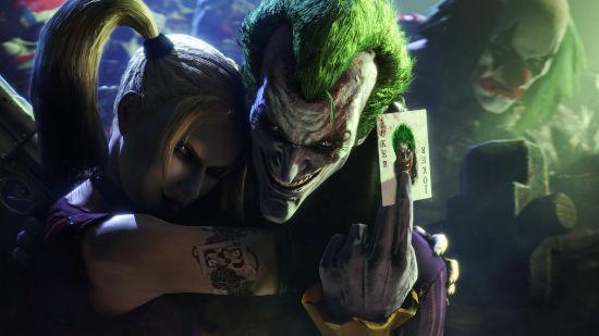 Batman Arkham City - Joker et Harley Quinn - Quad HD 1440p