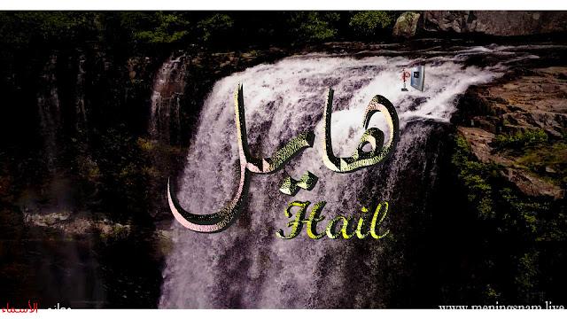 معنى اسم هايل وصفات حامل هذا الإسم Hail