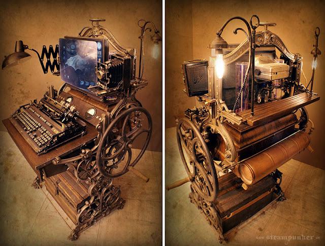 Ordenador hecho con partes viejas
