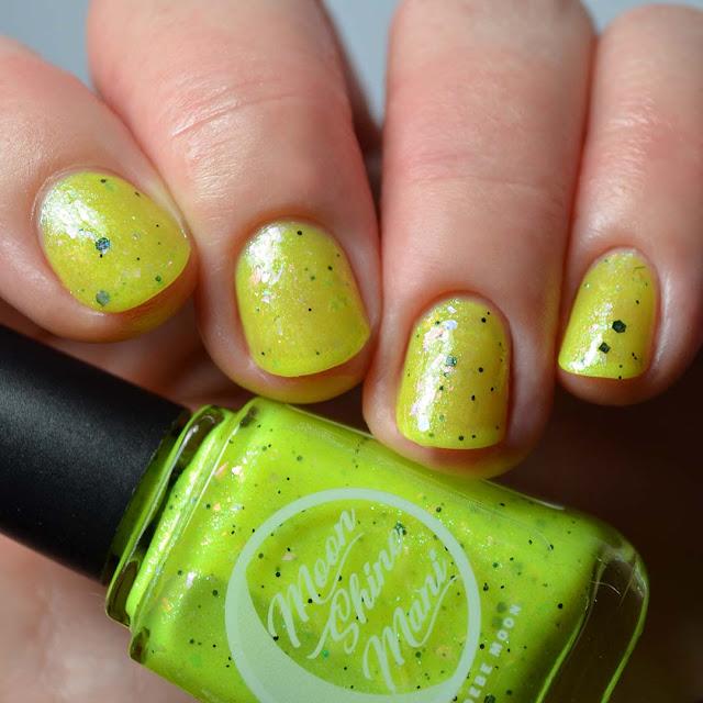 neon yellow nail polish
